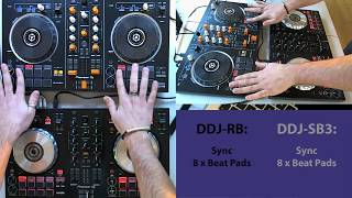 Download Pioneer DDJ SB3 vs DDJ RB - What's the difference? Video