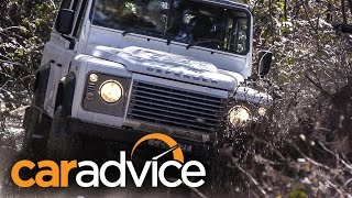 Download 2015 Land Rover Defender 110 Review : Off Road Icon Video