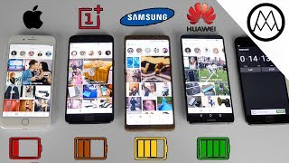 Download Huawei Mate 10 Pro vs Galaxy Note 8 vs iPhone 8 Plus- Battery Life Drain Test Video