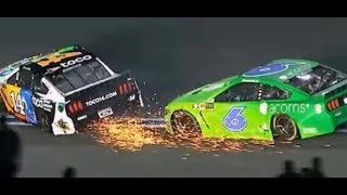 Download Bowyer throws punches at Newman after NASCAR all-star race! Video