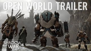 Download Official Shadow of War: ″Dominate the Open World″ Trailer | 4K Video