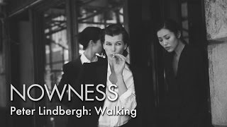 Download Peter Lindbergh's Manhattan Catwalk Video