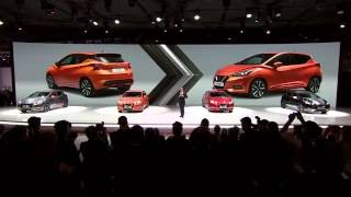 Download All-new Nissan Micra Gen5 unveiled at the Paris Motor Show 2016 Video