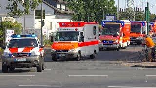 Download [GROSSALARM IN SIEGBURG] - Einsatzfahrt PTZ 10 Leverkusen zum Großbrand nach Siegburg - Video