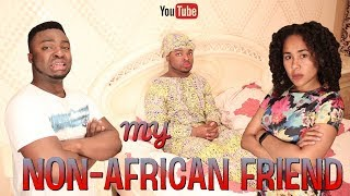 Download When You Bring Your Non-African Friend To An African Home Video