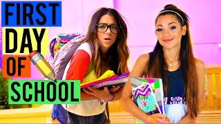 Download What to EXPECT on the First Day of School! BACK TO SCHOOL 2015! Niki and Gabi Video