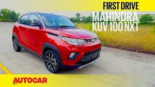 Download Mahindra KUV 100 NXT | First Drive | Autocar India Video