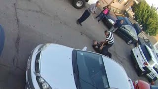 Download Video shows cop, suspect in brawl before shooting Video