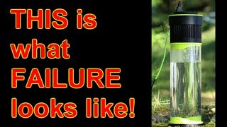 Download 'Self-Filling Water Bottle' Anatomy of a scam-starter FAIL! Video