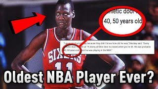 Download The OLDEST Player In NBA History That May Have 55 YEARS OLD!? Video