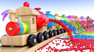Download Learn Colors with Preschool Toy Train and Color Balls - Shapes & Colors Collection for Children Video
