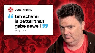 Download Tim Schafer Responds to IGN Comments Video