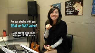 Download Are you singing with your real or fake voice? (And how to sing better with your REAL voice) Video