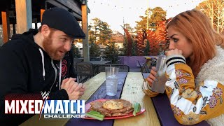 Download Sami Zayn & Becky Lynch debate WWE Mixed Match Challenge strategy Video