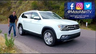 Download 2018 VW Atlas SUV TECH REVIEW (1 of 2) Video