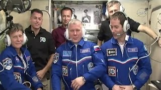 Download Welcome Aboard! New Arrivals Make Six Expedition 50 Crew Members Video