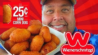 Download Wienerschnitzel® 25¢ Mini Corn Dogs REVIEW! Video