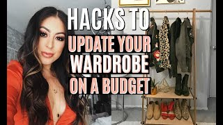 Download HACKS TO UPDATE YOUR WARDROBE ON A BUDGET Video