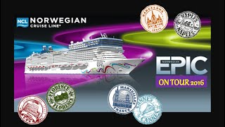 Download NORWEGIAN EPIC Western Mediterranean Cruise July 2016 Day 1 Barcelona Video