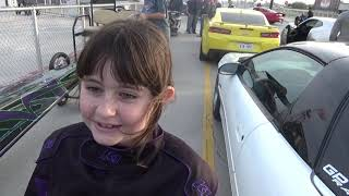 Download Makenzie introducing her Jr Dragster at XRP on 2 3 19 Video