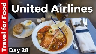 Download United Airlines Business Class from Lisbon to New York City (and NYC Pizza) Video