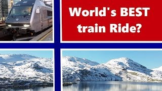 Download WORLD'S BEST TRAIN RIDE? Bergen to Oslo (Norway) trip report Video