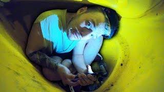 Download I Got Trapped Inside A Grit Bin Overnight & Went CRAZY Video