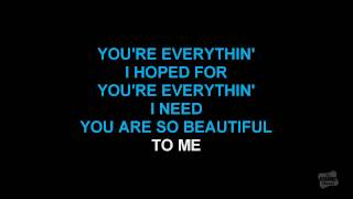 Download You Are So Beautiful in the style of Joe Cocker karaoke video with lyrics Video