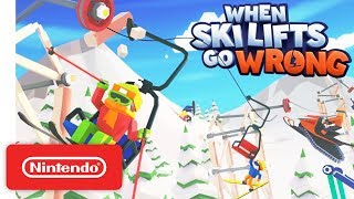 Download When Ski Lifts Go Wrong - Launch Trailer - Nintendo Switch Video