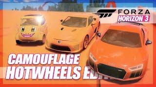 Download Forza Horizon 3 - Camouflage Hot Wheels Edition! (Mini Games & Random Fun) Video