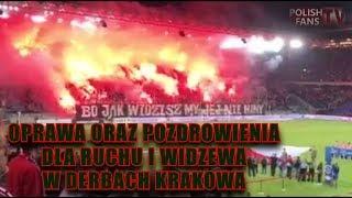 Download Oprawa oraz pozdrowienia dla Ruchu i Widzewa w derbach Krakowa (12.08.2017 r.) Video