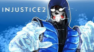 Download INJUSTICE 2 - SUB-ZERO DLC CHARACTER!!! THE LAG IS REAL! Video