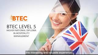 Download BTEC 5 Higher National Diploma in Hospitality Management at HOTEL SCHOOL RIGA Video