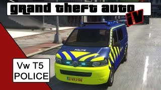 Download GTA 4 Volkswagen Transporter T5 Police Video