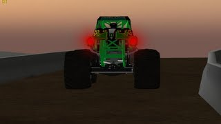 Download Rigs of Rods: Grave Digger Monster Jam World Finals 14 Freestyle HD Video