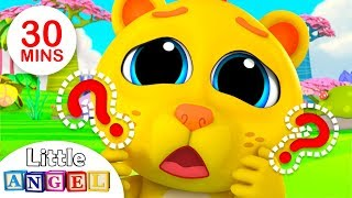 Download Where is my Lion ROAR?, 5 Little Monkeys Jumping on the Bed + More Nursery Rhymes by Little Angel Video