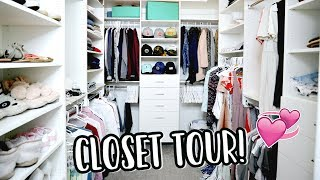 Download CLOSET TOUR + PACKING FOR NYC! Video