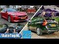Download Kia Stinger GT vs Volvo V60 Polestar | ACCELERATION TOP SPEED Exhaust SOUND & POV by AutoTopNL Video