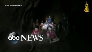 Download Missing soccer team found alive in a cave in Thailand after 10 days Video