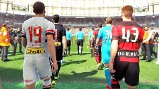 Download São Paulo Vs Flamengo: Pro Evolution Soccer 2017 (PES 2017) Video