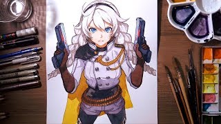 Download Painting Kiana Kaslana (崩坏3: Honkai Impact) | drawholic Video