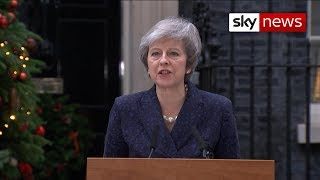 Download In full: Theresa May says she will stand in a vote of no confidence Video