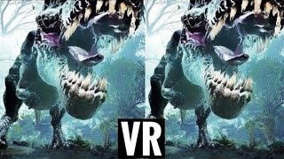 Download 3D DINOSAUR VR Dangerous Scary T-REX [Google Cardboard VR Experience] Virtual Realiy Video VR Box 3D Video