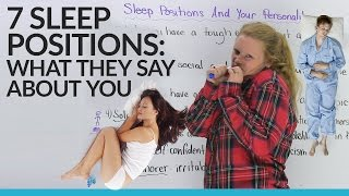 Download What does your sleep position say about you? Video
