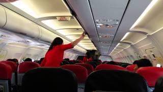 Download 에어아시아 제주도 비상착륙 기내방송안내 Video