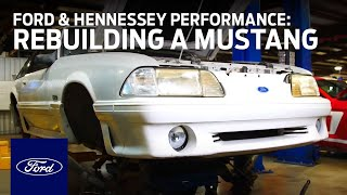 Download Ford and Hennessey Performance: Rebuilding a Mustang GT in Need | Ford In Your Community | Ford Video