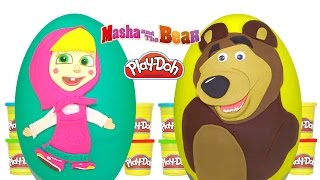 Download Maşa ile Koca Ayı Sürpriz Yumurta Oyun Hamuru | Masha and the Bear surprise egg, Pepee şaşırtı, daim Video