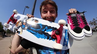 Download WORST BOARD AND SHOES AT THE PARK! Video