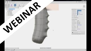 Download Organic Modeling Using Sculpting in Fusion 360 Video
