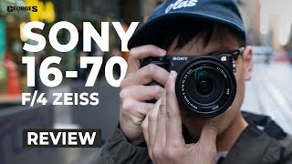 Download Sonys Best E-Mount Zoom Lens? Sony 16-70mm F4 Zeiss Review by Georges Cameras Video